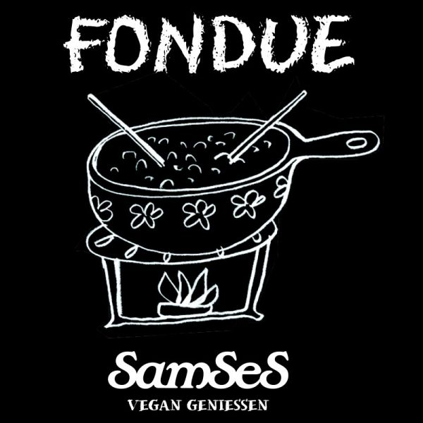 Vegane Alternative zu Fondue im Glas, 500g - Samses