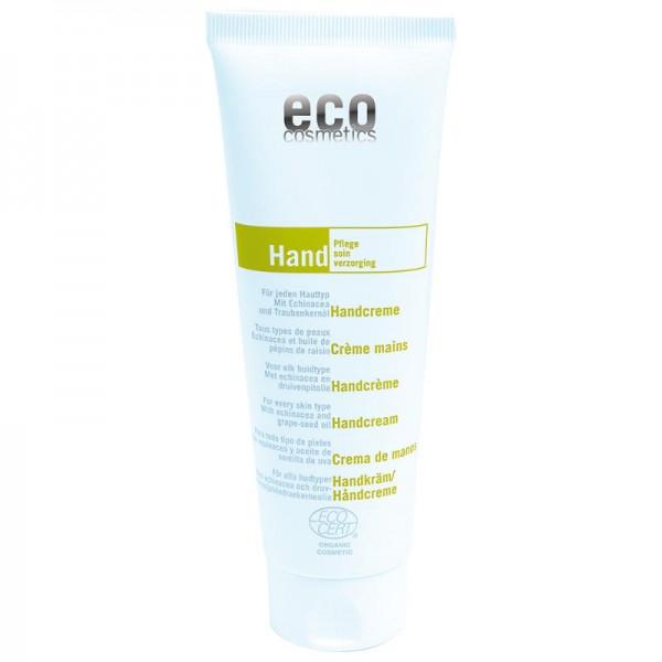 Handcreme mit Echinacea und Traubenkernöl, 125ml - eco cosmetics