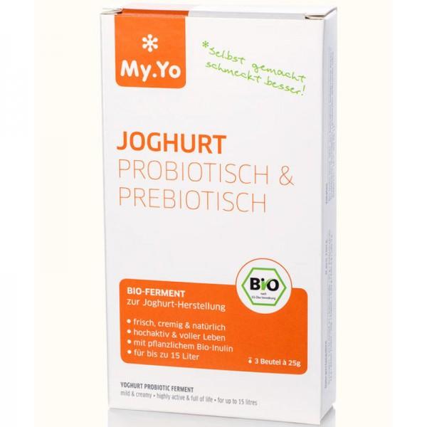 Joghurt Ferment probiotisch + prebiotisch Bio, 6x 25g - My.Yo