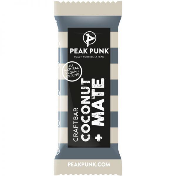 Craftbar Coconut + Mate Bio, 38g - Peak Punk