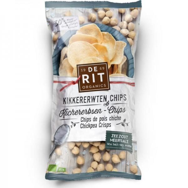 Kichererbsen-Chips Meersalz Bio, 75g - De Rit