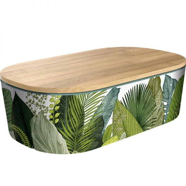 Bamboo Lunchbox Deluxe Exotic Leaves, 1 Stück - Chic Mic