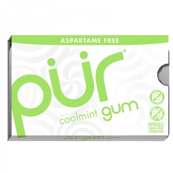 Kaugummi coolmint gum, mini 12.6g - pür gum