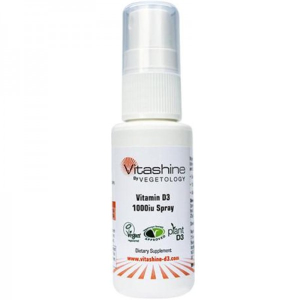 Vitashine Vitamin D3 1000iu Spray, 20ml - Vegetology