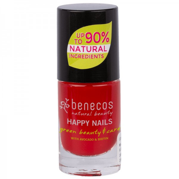 Nail Polish vintage red, 5ml - Benecos