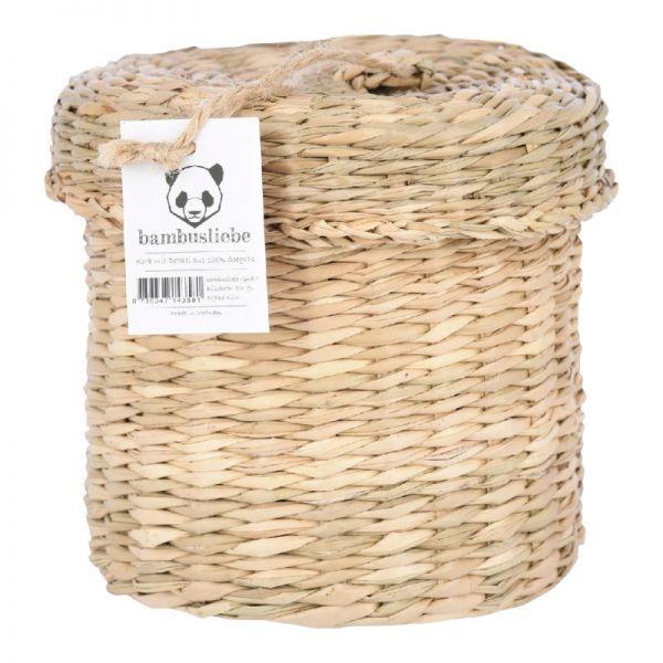Seegras Korb, 1 Stück - bambusliebe
