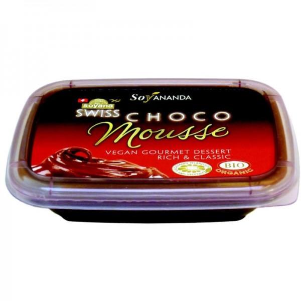 Choco-Mousse Gourmet Dessert Soyananda Bio, 140g - Soyana