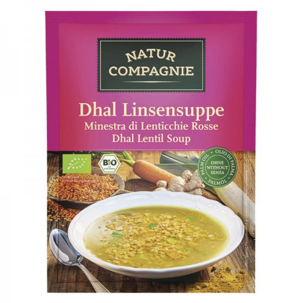 Dhal Linsensuppe Bio, 60g - Natur Compagnie