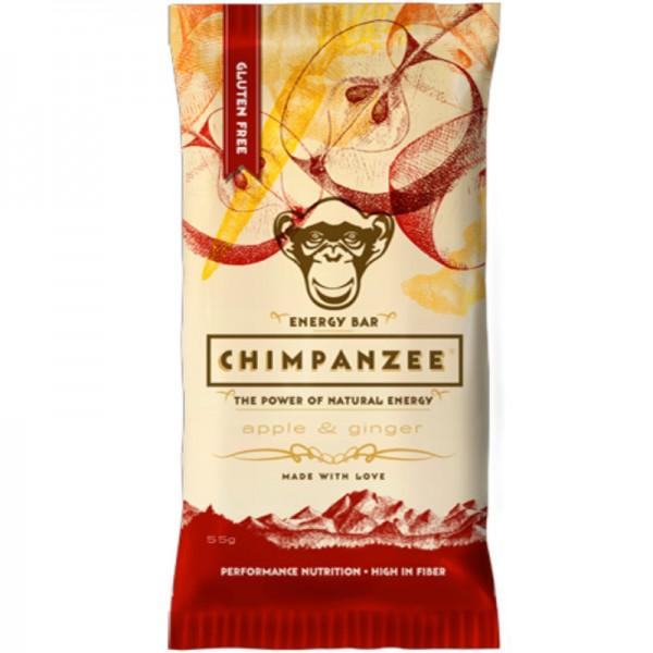 Energy Bar Apple & Ginger, 55g - Chimpanzee