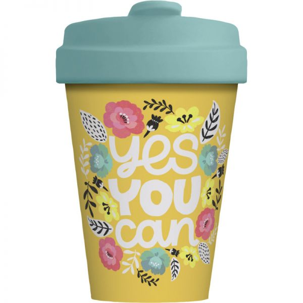Bamboo Cup Yes you can 400ml, 1 Stück - Chic Mic