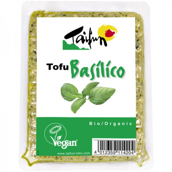 Tofu Basilico Bio, 200g - Taifun
