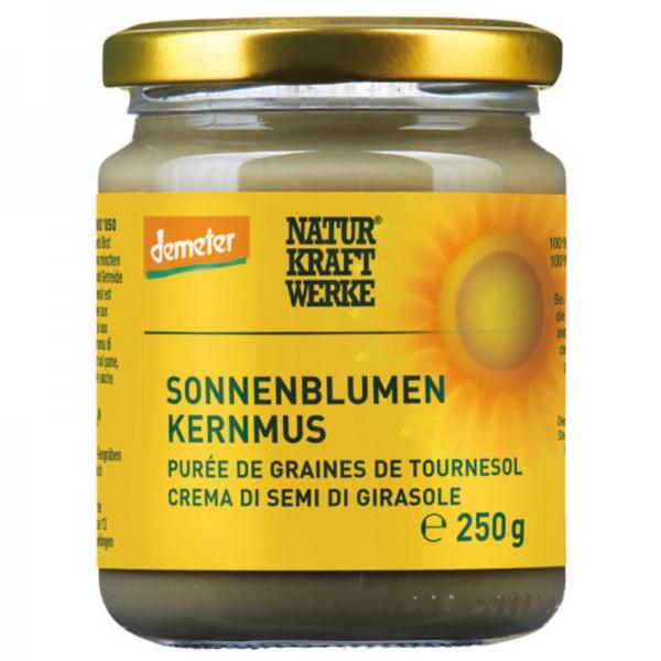 Sonnenblumenkernmus Bio, 250g - Natur Kraft Werke