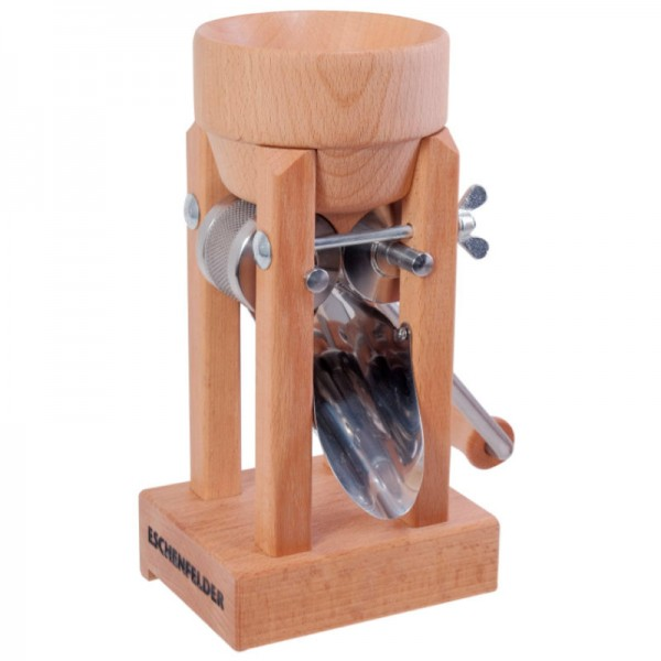 Korn-Quetsche Tischmodell mit Holztrichter - Eschenfelder
