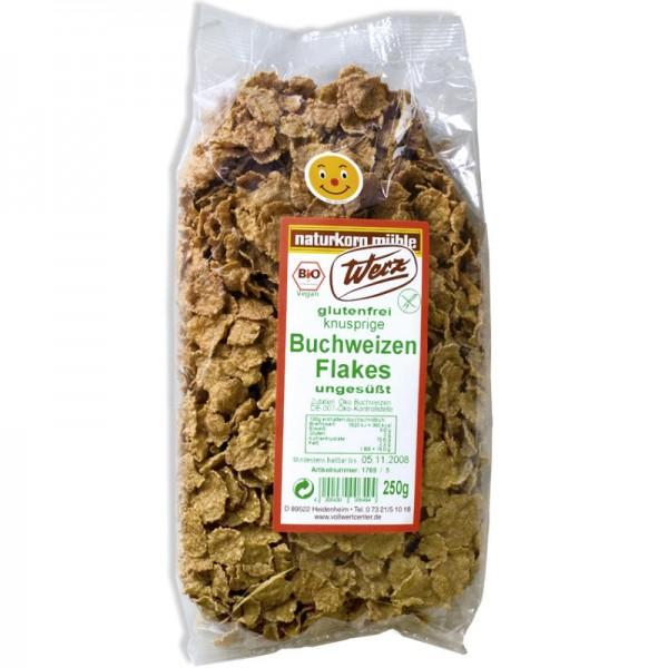 Buchweizen Flakes ungesüsst Bio, 250g - Werz