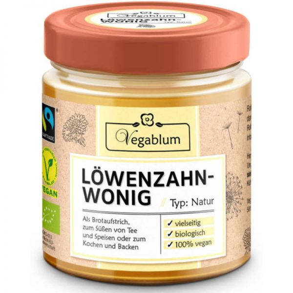 Löwenzahn-Wonig Bio, 225g - Vegablum