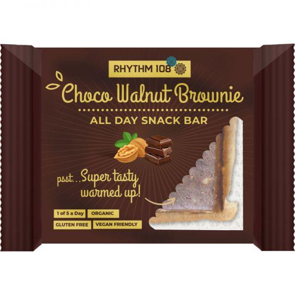 All Day Snack Bar Choco Walnut Brownie Bio, 40g - Rhythm 108