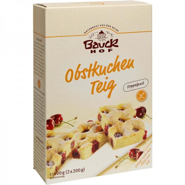 Obstkuchen Teig Backmischung Bio, 2x200g - Bauckhof