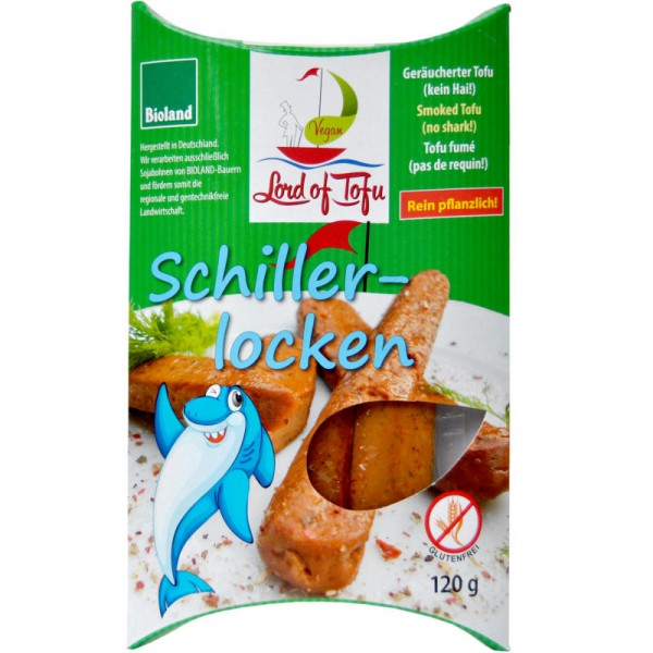 Räucherlocken aus Soja + Lupinen Bio, 120g - Lord of Tofu