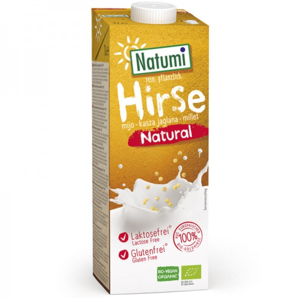 Hirse Natural Drink Bio, 1L - Natumi