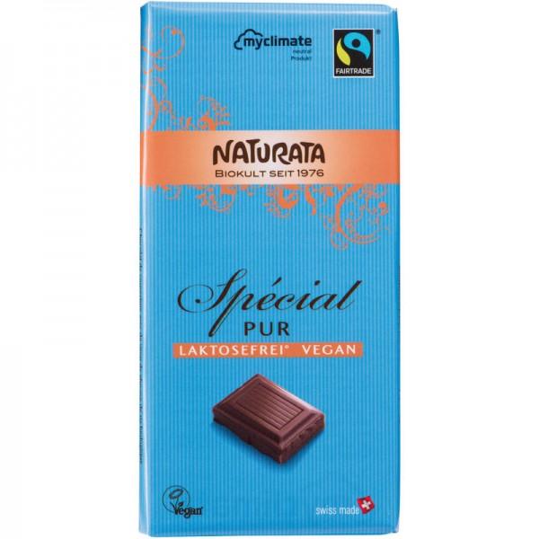 Spécial Pur Schokolade Bio, (blau) 100g - Naturata
