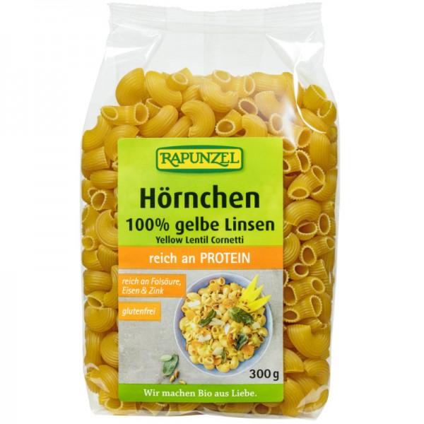 Gelbe Linsen Hörnchen Bio, 300g - Rapunzel