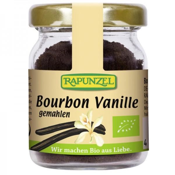 Vanillepulver Bourbon im Glas Bio, 15g - Rapunzel
