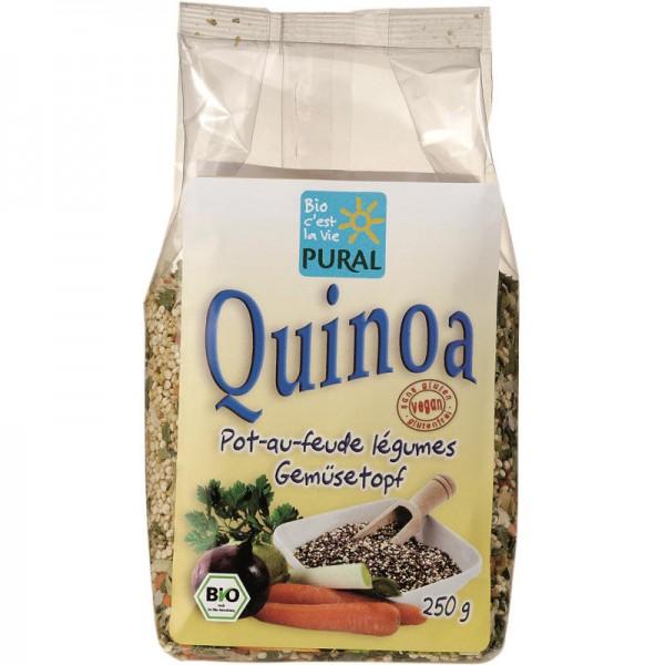 Quinoa Gemüsetopf Bio, 250g - Pural