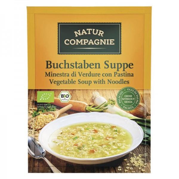Buchstaben Suppe Bio, 50g - Natur Compagnie