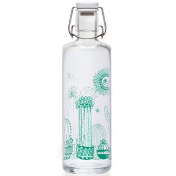 Trinkflasche Cactuspower 1L, 1 Stück - soulbottles