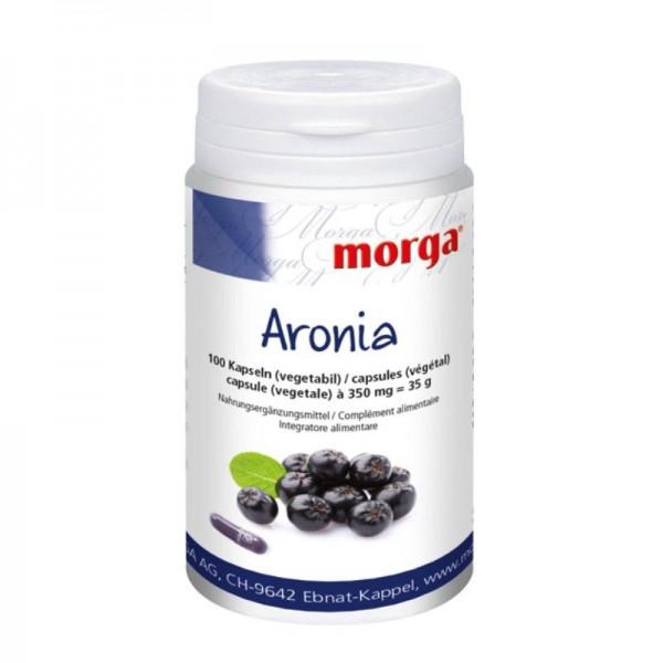 Aronia Kapseln, 100 Stück - Morga