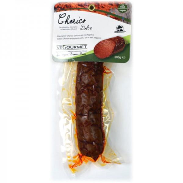 Chorizo Dolce, 200g - Vegourmet