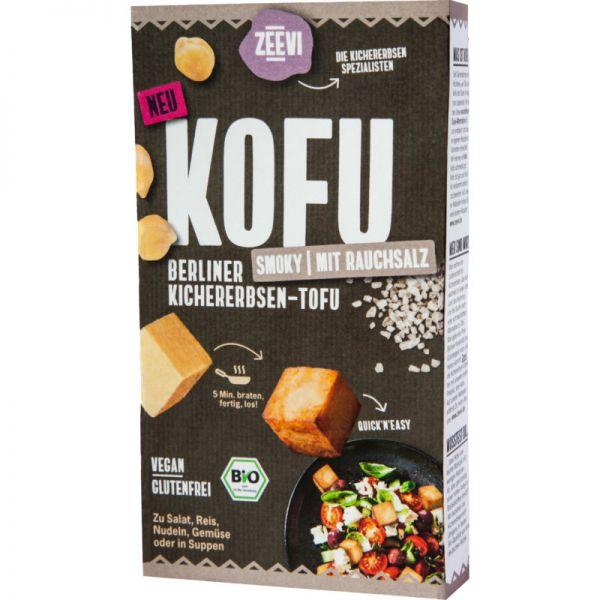 Kofu Kichererbsen-Tofu Smoky Bio, 200g - Zeevi