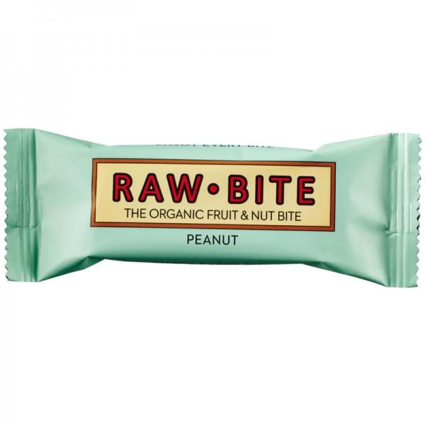 Peanut Rohkost-Riegel Bio, 50g - Raw Bite