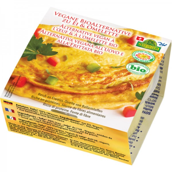 Vegane Alternative zu Ei & Omelette Bio, 200g - Soyana