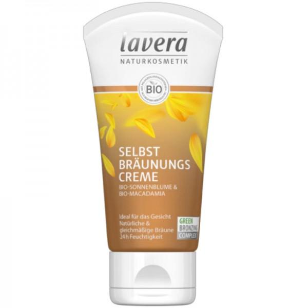 Selbstbräunungscreme Gesicht Bio-Sonnenblume & Bio-Macadamia, 50ml - Lavera