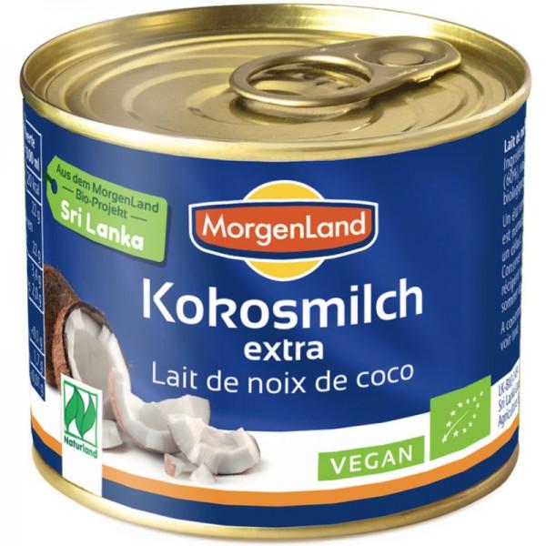 Kokosmilch extra Bio, 200ml - Morgenland