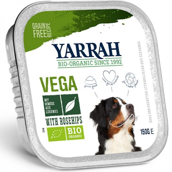 Hundefutter Vega in der Schale Bio, 150g - Yarrah