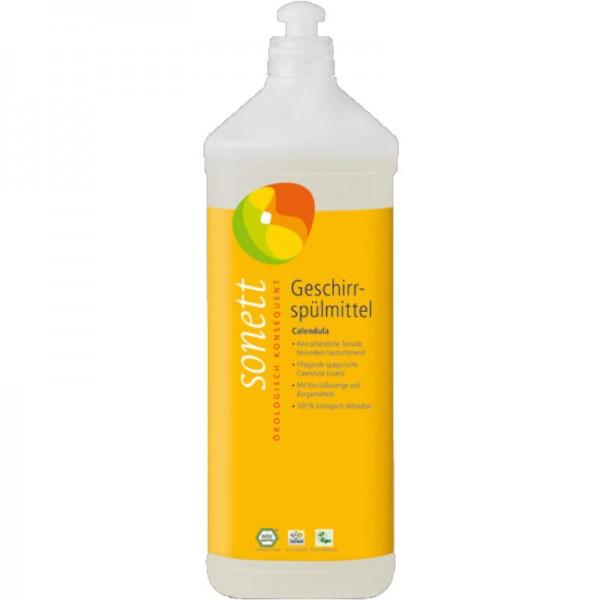 Geschirrspülmittel Calendula Nachfüllflasche, 1L - Sonett