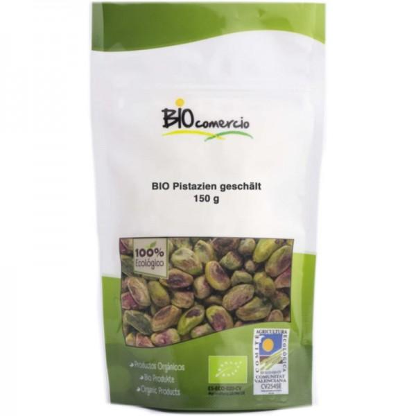 Spanische Pistazien geschält Bio, 150g - Bio comercio