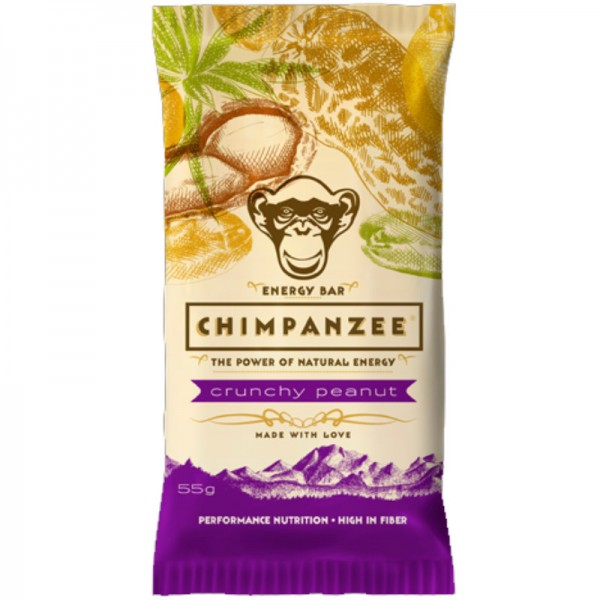 Energy Bar Crunchy Peanut, 55g - Chimpanzee