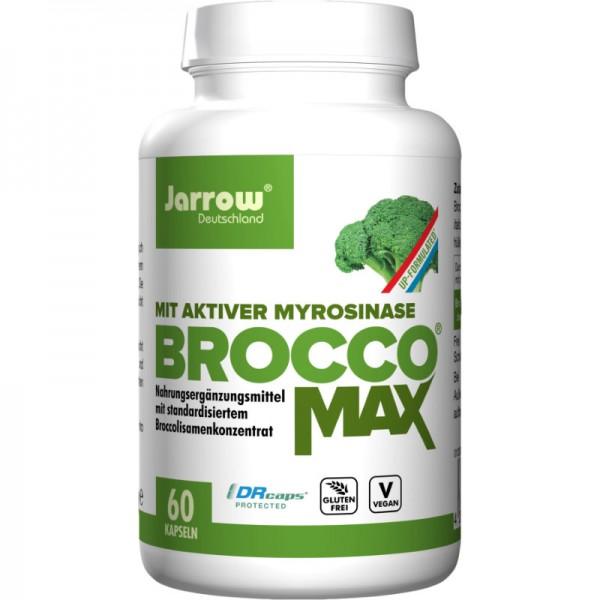 BroccoMax mit Broccoliesamenkonzentrat Kapseln, 60 Stück - Jarrow