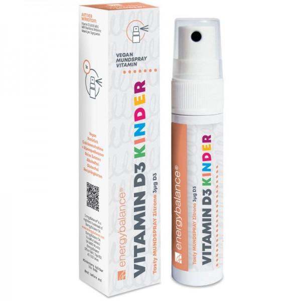Vitamin D3 Kinder Spray 3µg, 25ml - Energybalance