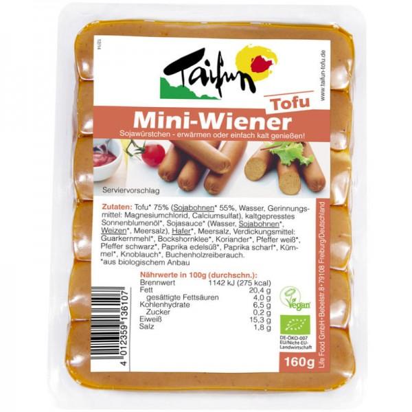 Tofu Mini-Wiener Bio, 160g - Taifun
