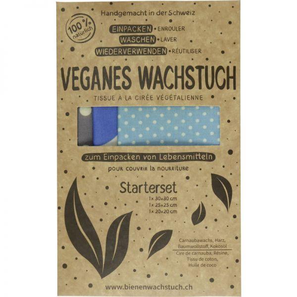 Veganes Wachstuch Starter Set, 3Stk - RapNika
