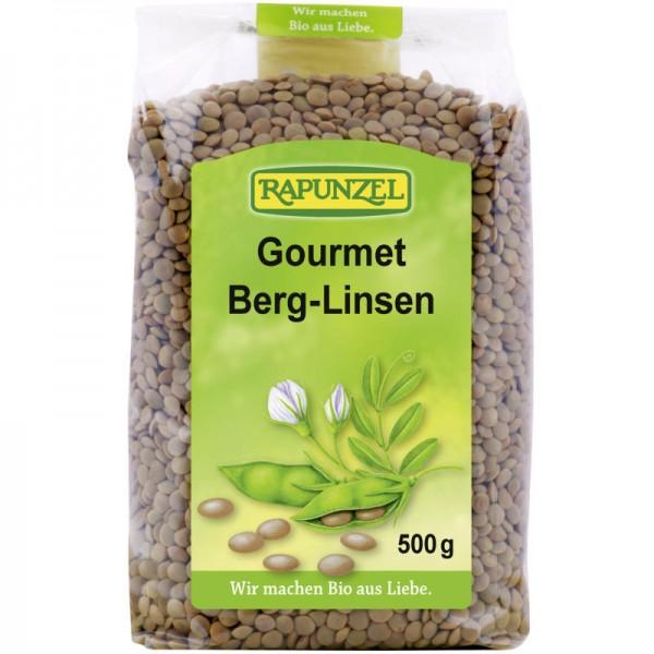 Gourmet Berg-Linsen Bio, 500g - Rapunzel
