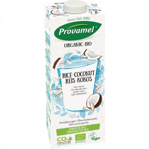 Reis-Kokos Drink ungesüsst Bio, 1L - Provamel