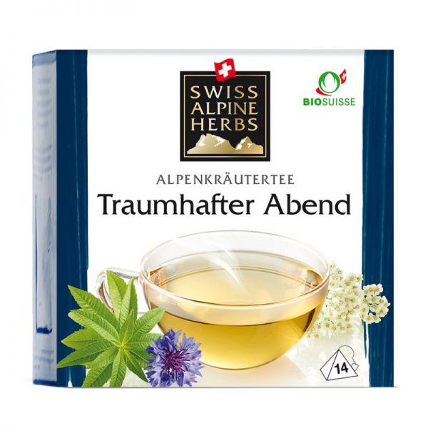 Traumhafter Abend Tee Bio, 14x1g - Swiss Alpine Herbs