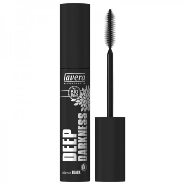 Mascara Deep Darkness Intense Black, 13ml - Lavera