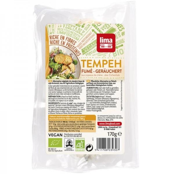 Tempeh geräuchert Bio, 170g - Lima