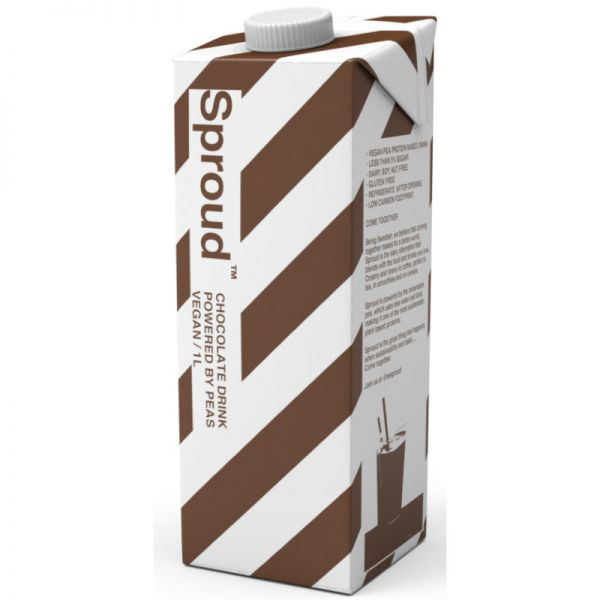 Chocolate Drink powered by peas, 1L - Sproud